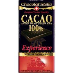 שוקולד 100% קקאו עם בורבון וניל