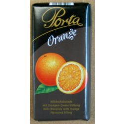 שוקולד חלב ממולא קרם בטעם תפוז