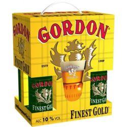 מארז רביעיית בירה גורדון Finest Gold