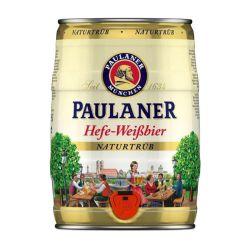 בירה פאולנר חבית 5 ליטר