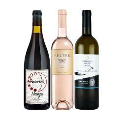 סט של יינות 3 צבעים