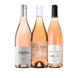סט של יינות רוזה ישראלי