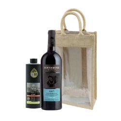 מארז יין יוגב ושמן זית